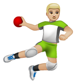Person Playing Handball: Medium-Light Skin Tone on WhatsApp 2.20.206.24