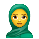 Woman with Headscarf on WhatsApp 2.20.206.24