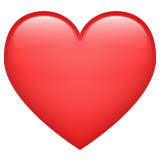 Red Heart on WhatsApp 2.20.206.24