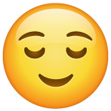 Relieved Face on WhatsApp 2.20.206.24