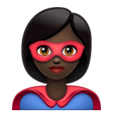 Superhero: Dark Skin Tone on WhatsApp 2.20.206.24