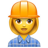 Woman Construction Worker on WhatsApp 2.20.206.24