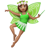 Woman Fairy: Medium Skin Tone on WhatsApp 2.20.206.24