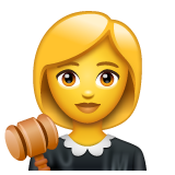 Woman Judge on WhatsApp 2.20.206.24