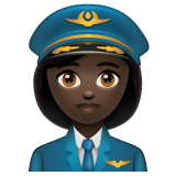 Woman Pilot: Dark Skin Tone on WhatsApp 2.20.206.24