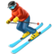 Skier on Apple