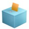 Ballot Box with Ballot on Apple