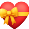 Heart With Ribbon on Facebook