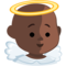 Baby Angel: Dark Skin Tone on Messenger