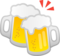 Clinking Beer Mugs on Google