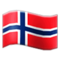 Flag: Norway on Samsung