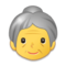 Old Woman on Samsung