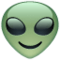 Alien on WhatsApp