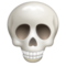 Skull on WhatsApp