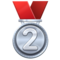 2nd Place Medal on WhatsApp