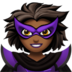 Woman Supervillain: Medium-Dark Skin Tone