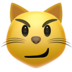 Cat Face With Wry Smile