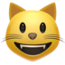 Grinning Cat Face