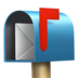 Open Mailbox with Raised Flag