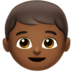 Boy: Medium-Dark Skin Tone