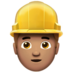 Man Construction Worker: Medium Skin Tone
