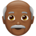 Old Man: Medium-Dark Skin Tone