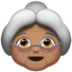 Old Woman: Medium Skin Tone