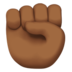 Raised Fist: Medium-Dark Skin Tone