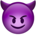 Smiling Face With Horns