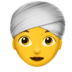 Woman Wearing Turban