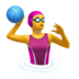 Woman Playing Water Polo