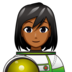 Woman Astronaut: Medium-Dark Skin Tone