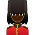 Woman Guard: Dark Skin Tone