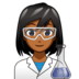 Woman Scientist: Medium-Dark Skin Tone