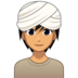 Person Wearing Turban: Medium Skin Tone