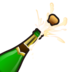 Bottle With Popping Cork