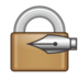 Locked With Pen