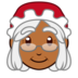 Mrs. Claus: Medium-Dark Skin Tone