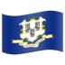 Flag for Connecticut (US-CT)