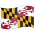Flag for Maryland (US-MD)