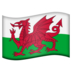 Flag: Wales