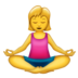 Woman in Lotus Position