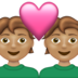Couple With Heart: Medium Skin Tone