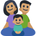 Family - Man: Medium Skin Tone, Woman: Medium Skin Tone, Boy: Medium Skin Tone