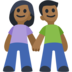 Man and Woman Holding Hands, Type-5