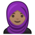 Woman With Headscarf: Medium Skin Tone
