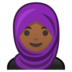 Woman With Headscarf: Medium-Dark Skin Tone