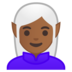 Woman Elf: Medium-Dark Skin Tone