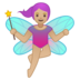 Woman Fairy: Medium-Light Skin Tone