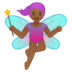 Fairy: Medium-Dark Skin Tone